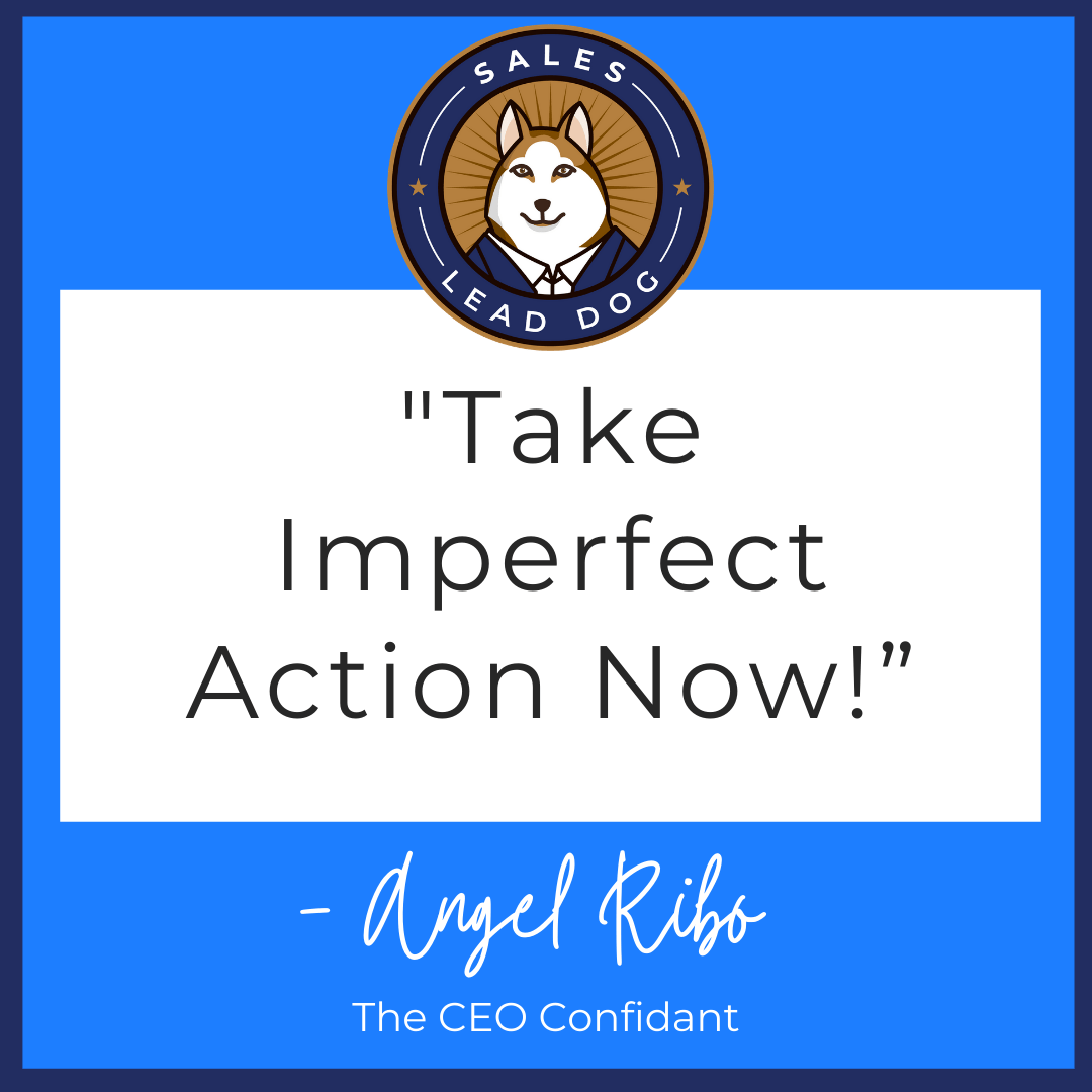 Don't Wait. Don't Fret. Get Going. – Angel RIBO, The CEO Confidant